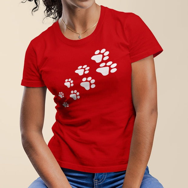 Cat Paw Cute Women's T-Shirt