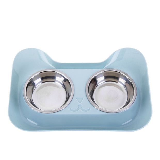 Neat Cat Feeder Double Bowl