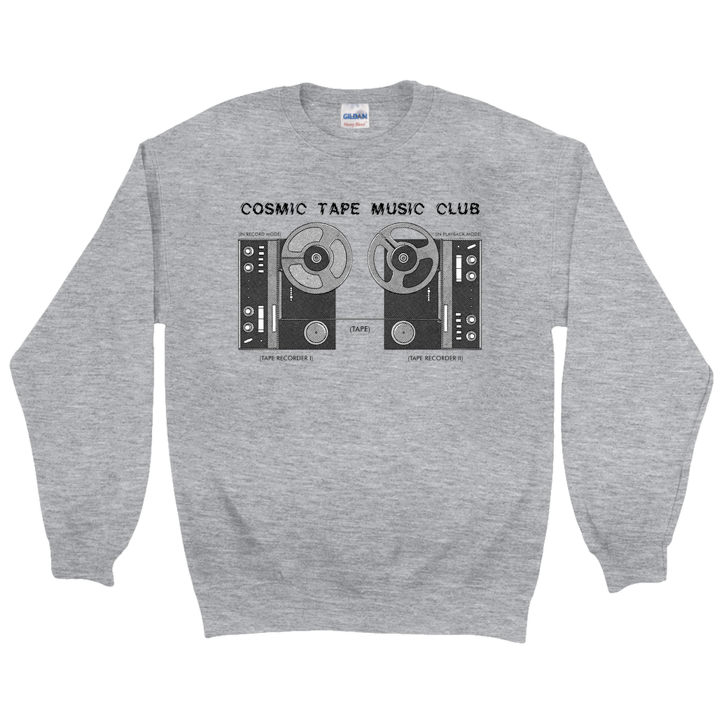 Cosmic Tape Music Club Sweatshirt & CD Bundle