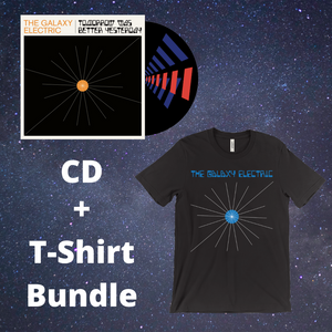 Tomorrow Was Better Yesterday - CD & T-Shirt Bundle