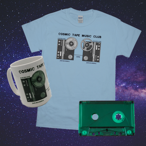 Cosmic VIP Bundle: T-Shirt, Mug & Tape Loop