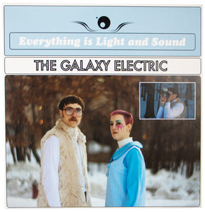 The Galaxy Electric - Everything is Light and Sound - Vinyl Album Front