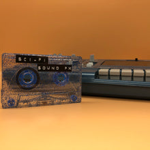 Load image into Gallery viewer, Custom Vintage Sci-Fi Sound FX Cassette