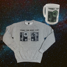Load image into Gallery viewer, Cosmic Tape Music Club Sweatshirt & Mug Bundle