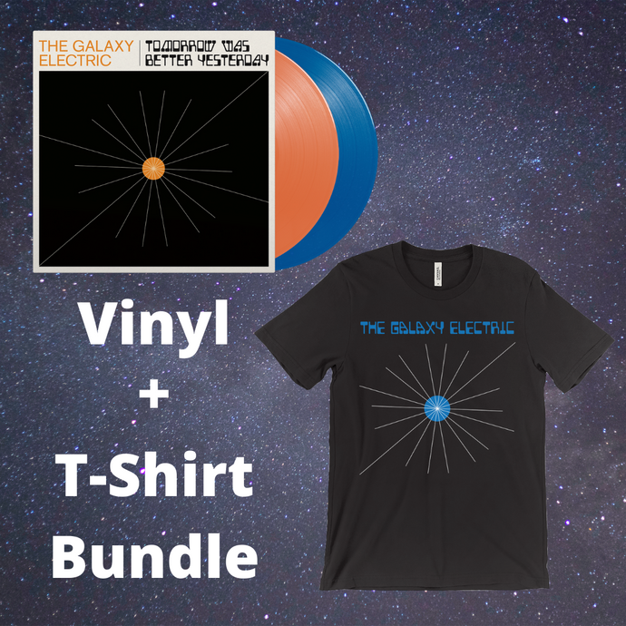 Tomorrow Was Better Yesterday - Vinyl & T-Shirt Bundle