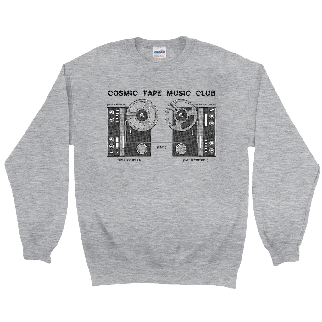 Cosmic Tape Music Club Sweatshirt & Mug Bundle