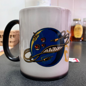 Intergalactic Synth Mug