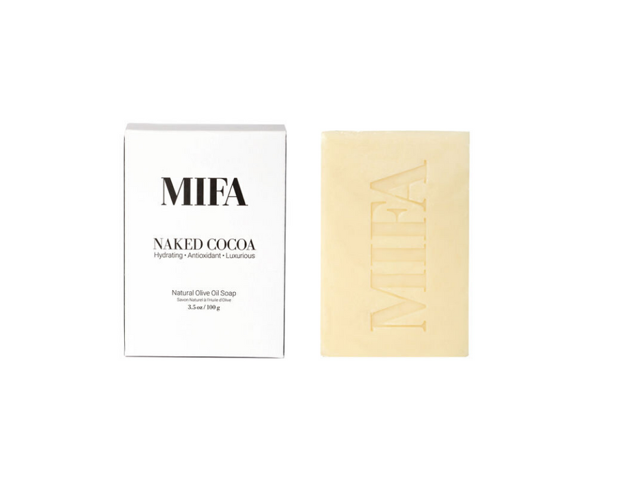 MIFA NAKED COCOA Olive Oil Soap Bar Body - Fig Face
