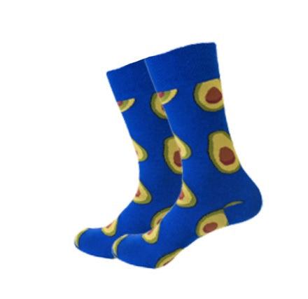 Blue Avocado Socks
