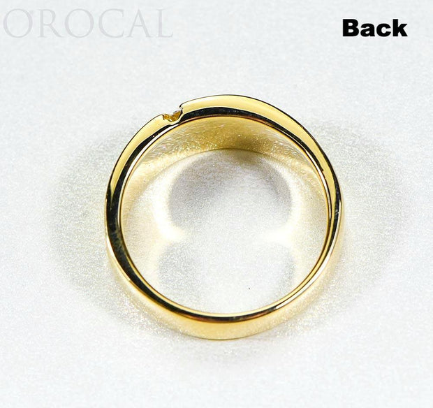 "Gold Quartz Ladies Ring ""Orocal"" RL731D10NQ Genuine Hand Crafted Jewelry - 14K Gold Casting"