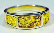 Gold Nugget Mens Ring Orocal Rm732Nss Genuine Hand Crafted Jewelry -