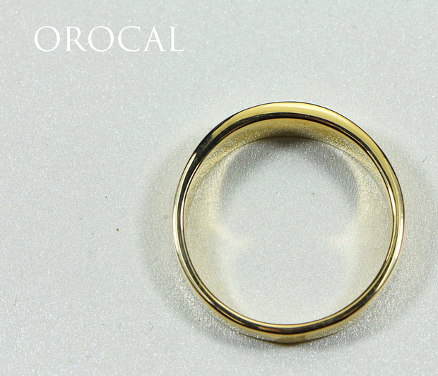 "Gold Quartz Ring ""Orocal"" RM652Q1 Genuine Hand Crafted Jewelry - 14K Gold Casting"
