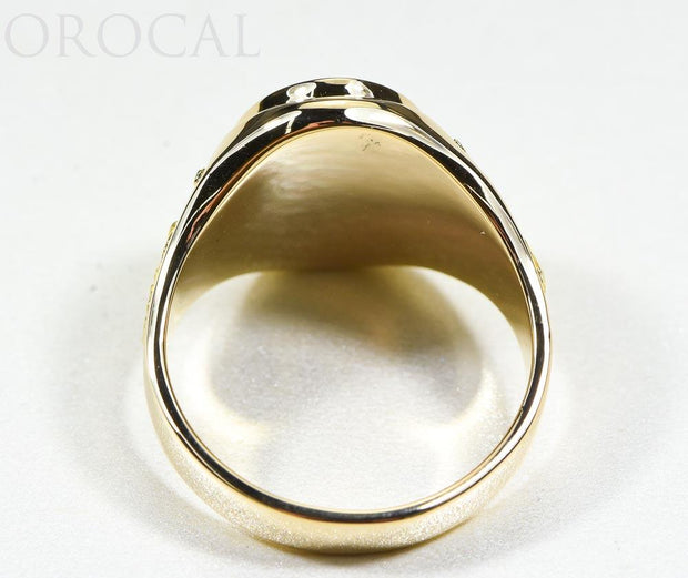 "Gold Quartz Ring ""Orocal"" RM675Q Genuine Hand Crafted Jewelry - 14K Gold Casting"