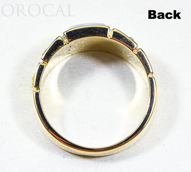 "Gold Quartz Ring ""Orocal"" RM1046NQ Genuine Hand Crafted Jewelry - 14K Gold Casting"