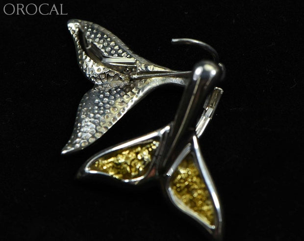 Gold Nugget Pendant Whales Tail - Sterling Silver Special Ewt44Lnlb Hand Made Jewelry Specials