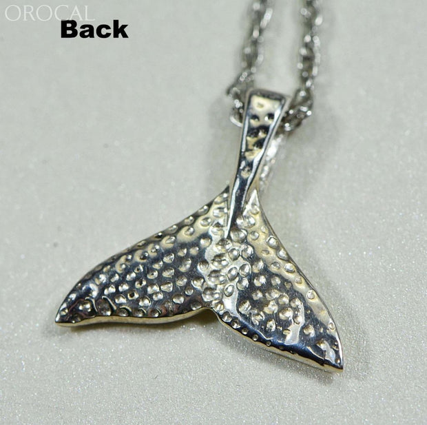 Gold Nugget Pendant Whales Tail - Sterling Silver Special Pwt44Snss Hand Made Jewelry Specials