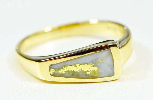 Gold Quartz Ring Orocal Rl1074Q Genuine Hand Crafted Jewelry - 14K Casting