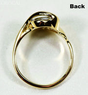 Gold Quartz Ring Orocal Rl549Q Genuine Hand Crafted Jewelry - 14K Casting