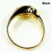 Gold Quartz Ring Orocal Rl587Q Genuine Hand Crafted Jewelry - 14K Casting