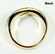 Gold Quartz Ring Orocal Rl610D10Q Genuine Hand Crafted Jewelry - 14K Casting
