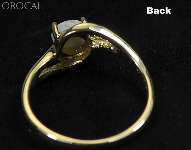 Gold Quartz Ring Orocal Rl696Q Genuine Hand Crafted Jewelry - 14K Casting