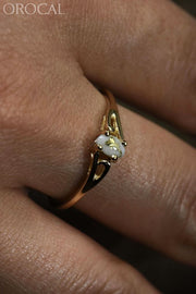 Gold Quartz Ring Orocal Rl788Q Genuine Hand Crafted Jewelry - 14K Casting