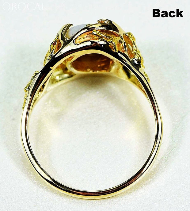 Gold Quartz Ring Orocal Rl958Q Genuine Hand Crafted Jewelry - 14K Casting