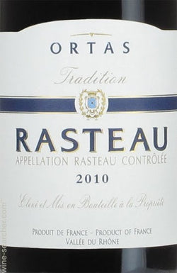 Ortas Rasteau Tradition 2013, Caves de Rasteau