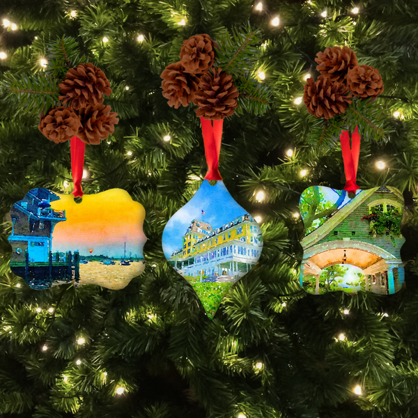 Watch Hill Christmas Ornament Set