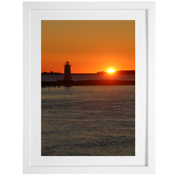 Sunrise at Edgartown Light
