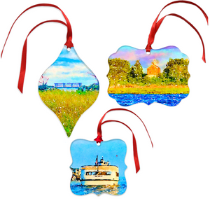 Greenwich Christmas Ornament Set