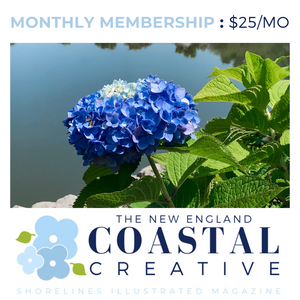 New England Coastal Creative MONTHLY Membership