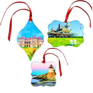 Newport Christmas Ornament Set