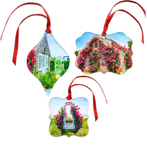 Sconset Bluff Christmas Ornament Set
