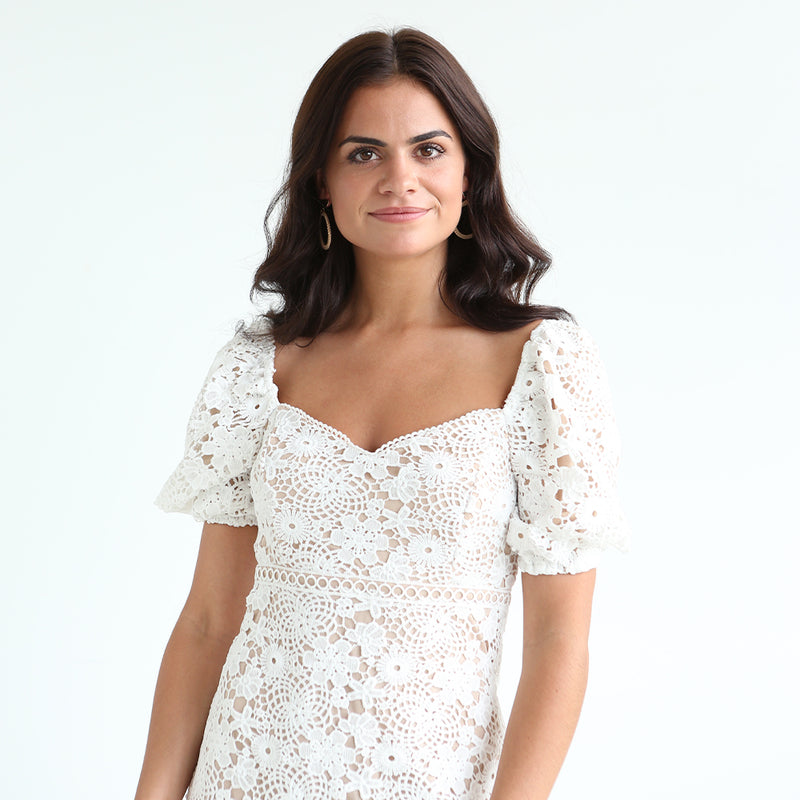 Dove Lace Dress
