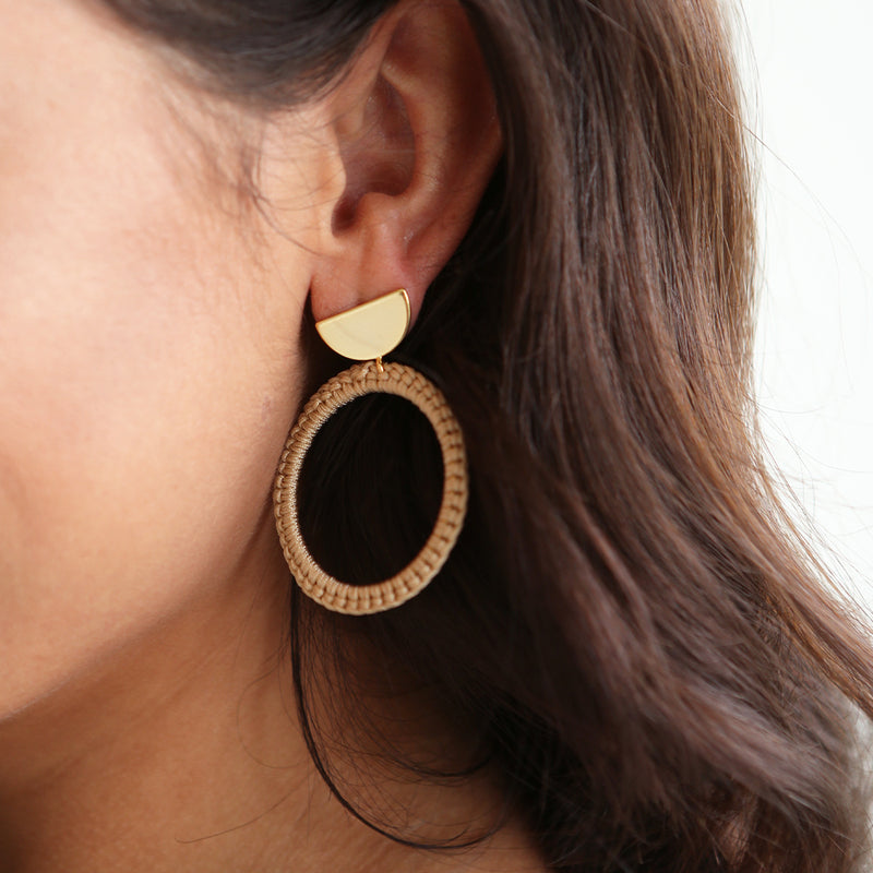 Molly Woven Earrings