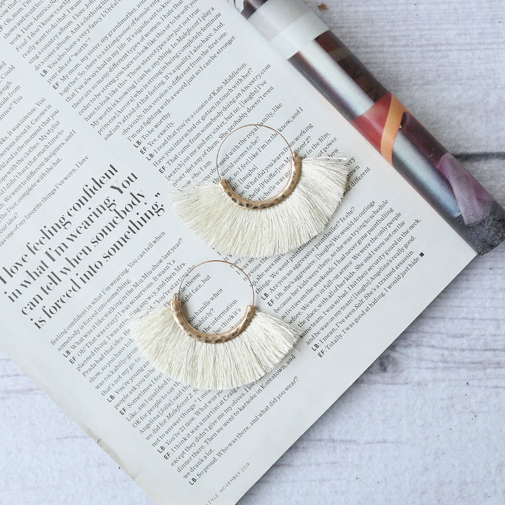 Aurora Tassel Earrings