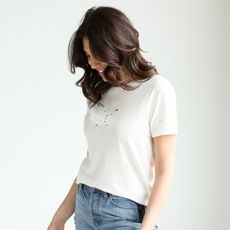 Chaser Distressed Tee