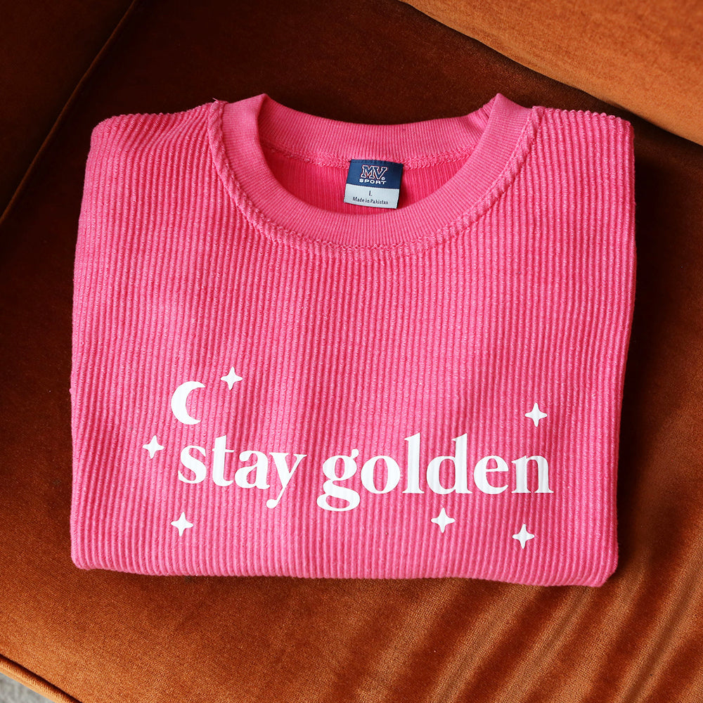 Stay Golden Corded Crew