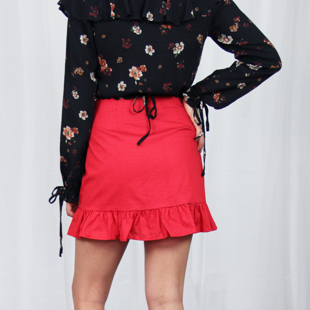 Roselle Mini Skirt