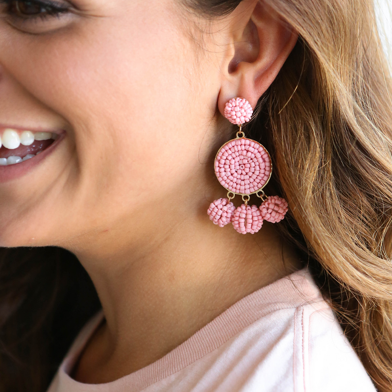 Rosie Beaded Earrings