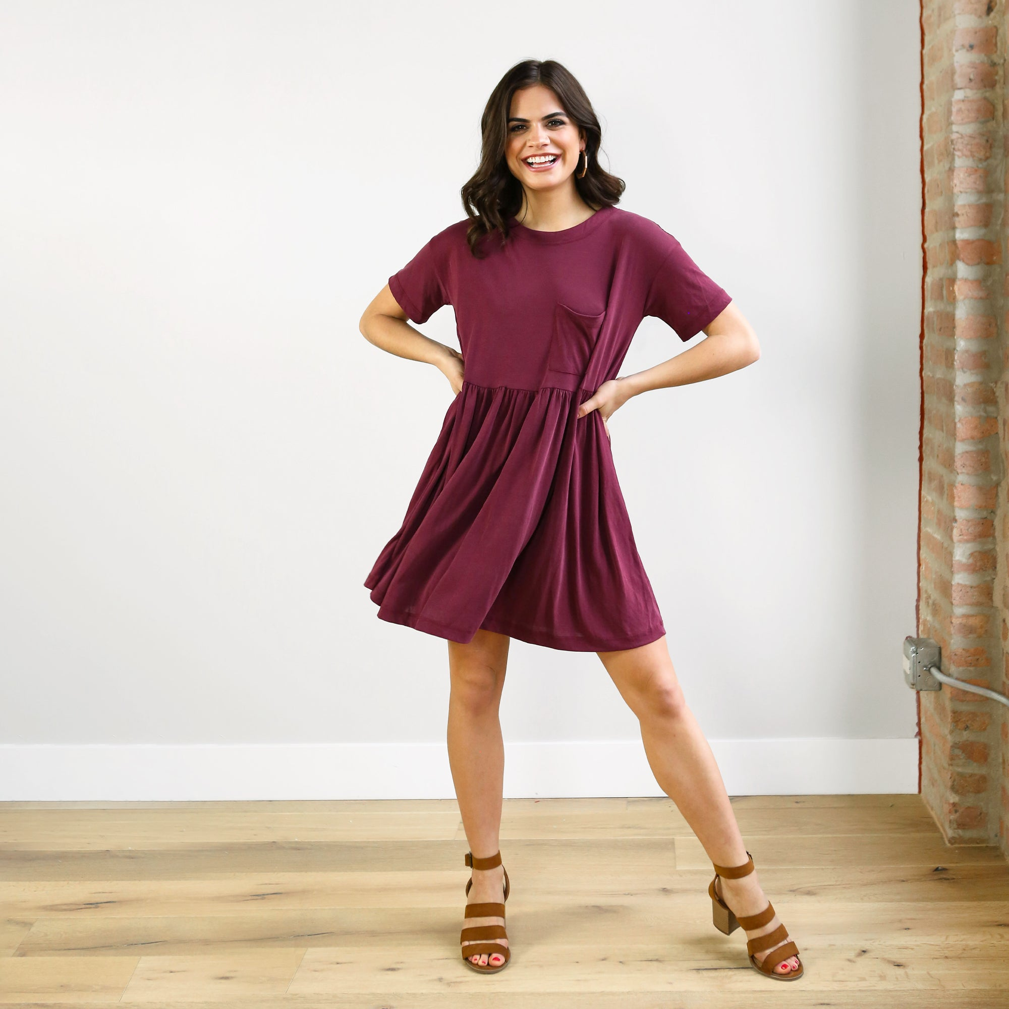 Sienna T-Shirt Dress