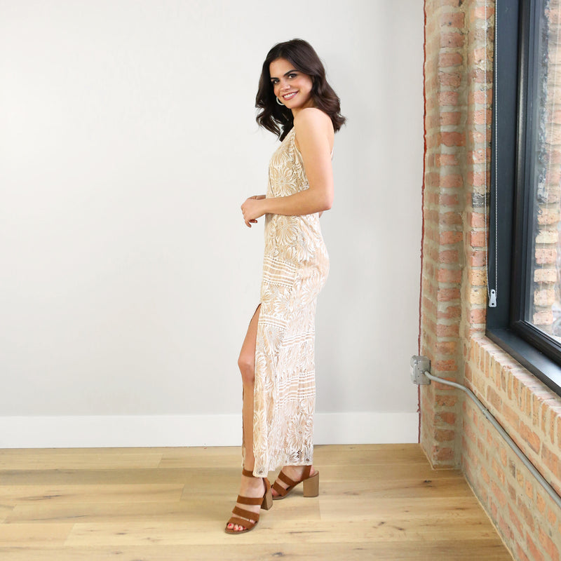 Harper Lace Maxi Dress