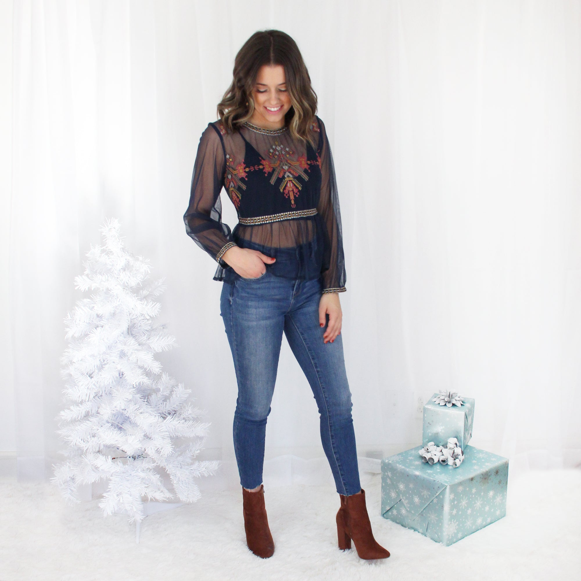 Maison Embroidered Top | Sale