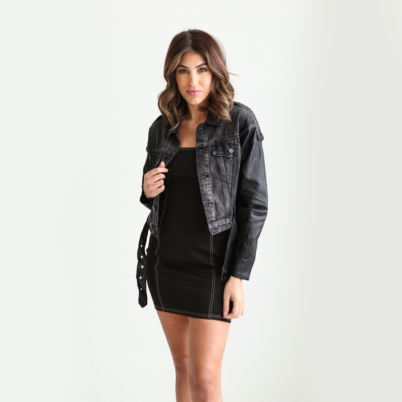 Carly Leather Jacket
