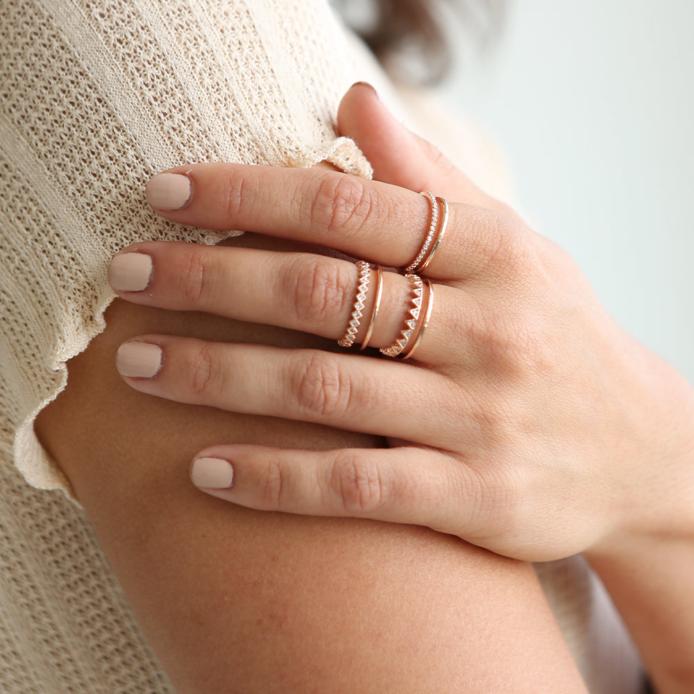 Lanie Ring Set Rose Gold