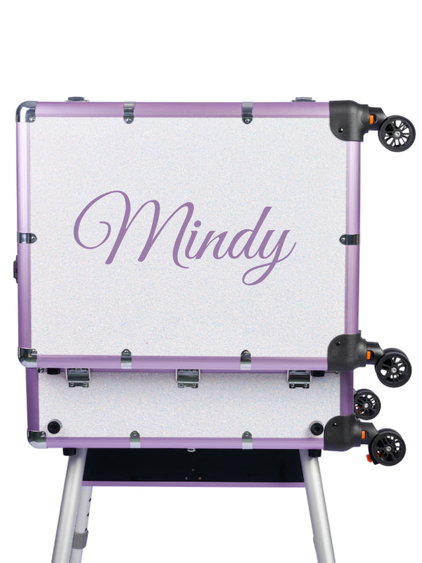 MoxieDolly Makeup Case Personalised Decal