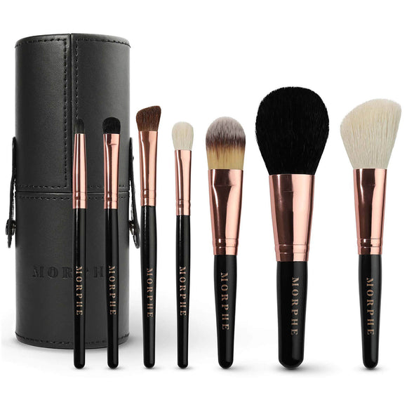 Morphe Cosmetics 7 Pieces Rose Brush Set