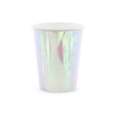 Iridescent Party Cups My Event Stylist