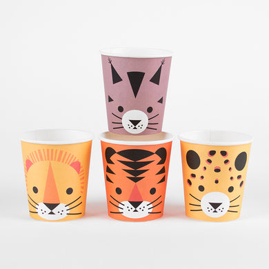 Mini Feline Paper Cups From My Little Day By My Event Stylist
